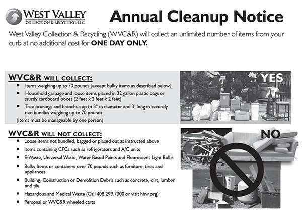 Annual Cleanup Flyer