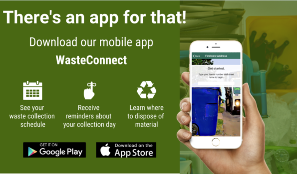 Waste Connect App Promo